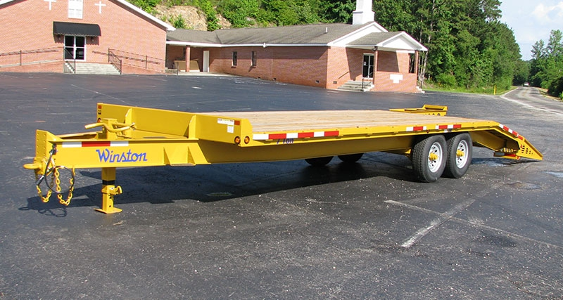 6 and 7 Ton Custom Series Tandem Equipment Trailers