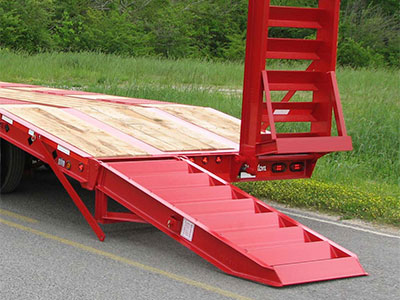 Self Clean Hydraulic Ramp